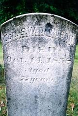 Colonel Samuel W. Davidson (1782-1858)