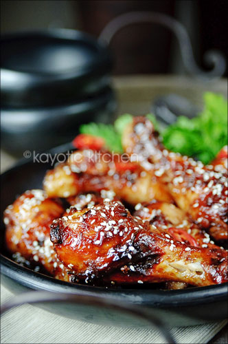Oriental Sticky Chicken