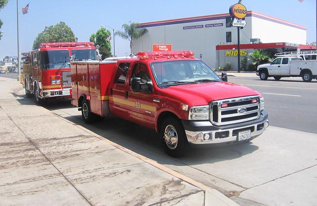 ford paramedics squad f350 lacofd lacountyfd