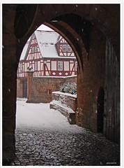 Büdingen/Hessen: Festung und Schloss - Büdingen/Hessen: fortress and castle