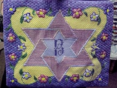 Girl's Tallit Bag (Gone Stitching1) Tags: needlepoint judaica