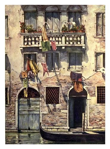 020- La colada semanal-Venice – 1904-Dorothy Menpes