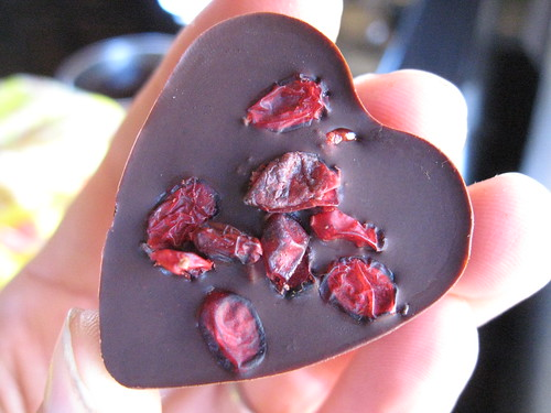 Chocolate Cherry Hearts with Super Berry Filling