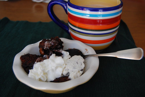 hot fudge cake