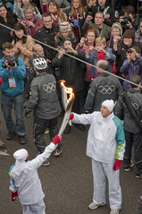 Yaletown Olympic Torch Relay