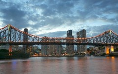 Brisbane Skyline & Story Bridge (Sir Francis Canker Photography ) Tags: new trip travel viaje bridge sunset panorama tourism beautiful rio skyline skyscraper river landscape puente nice pod scenery cityscape view shot dusk farm gorgeous awesome fiume great picture australia landmark visit icon brisbane tourist best ponte most scenary qld queensland vista australien aussie visiting ever turismo icono visita australie bradfield  brucke visitar       sirfranciscankerjones    pacocabezalopez