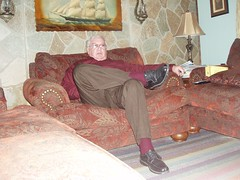 Poppa 005 (staggerlee1) Tags: people sitting grandfather grandpa sit granddad granddaddy seated poppa 2010