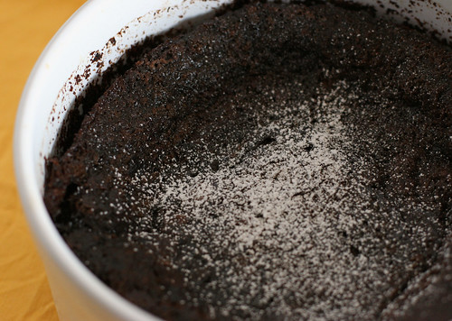 Spicy Chocolate Pudding Cake