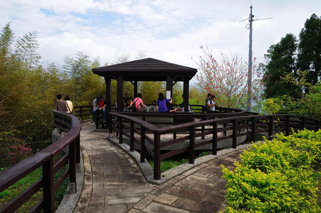 日月潭 貓囒山氣象站後花園