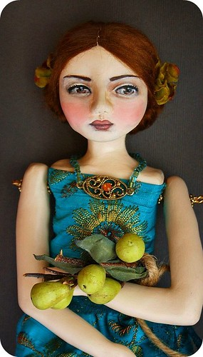 Tallulah and Green Pears