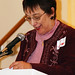 Cedar Key Woman's Club President Marie Evans