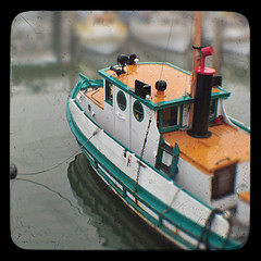 Toy Boat (Steven Hight) Tags: sanfrancisco fog wharf fishingboat ttv kodakduaflex3 stevenhight