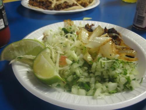 Taco garnishes