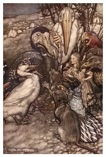 002a-Alice's adventures in Wonderland-1907- Arthur Rackham