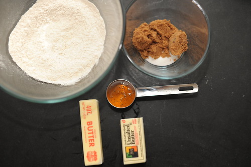 graham cracker mise