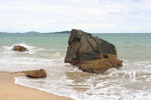 one of the hidden beaches