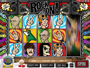 Rock On slot game online review