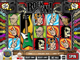 free Rock On slot wild