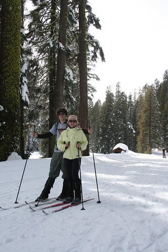 Skiing at Yosemite