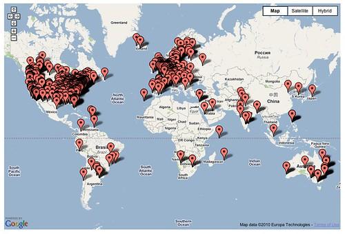 last 1000 visitors snapshot