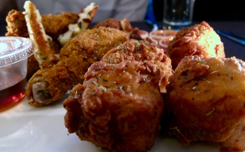 Fried Chicken by Eric Greenspan at the Foundry on Melrose
