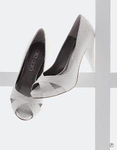 High heel wedding shoes that comfortable and open