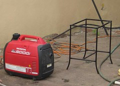 Honda generator to the rescue - again