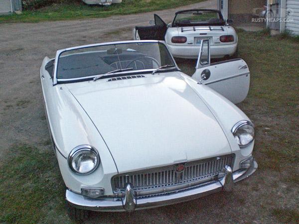 1963 MGB & 1990 Miata