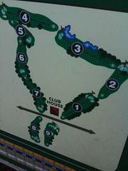 Fairway Village Golf course layout