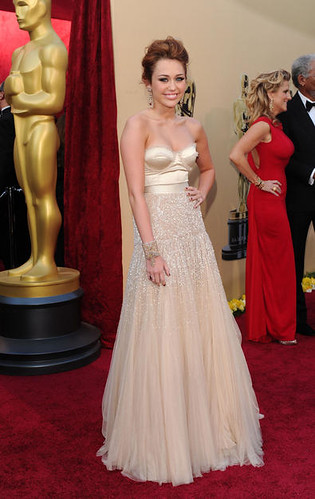 MIley Cyrus at the 82nd Annual Academy Awards