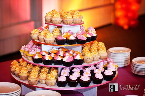 Bat Mitzvah cupcakes