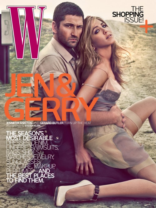 Gerard-Butler-Jennifer-Aniston-W-Magazine-April-2010-Cover-500x666