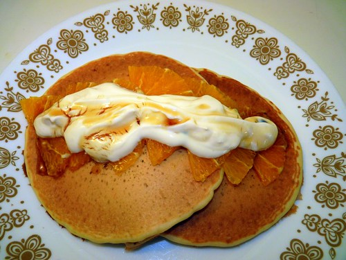 Orange Hotcakes