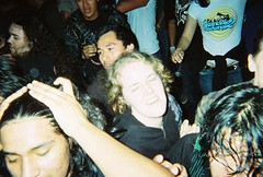 No(e)L (rrrrobbie) Tags: show film berkeley punk ska moshpit disposablecamera eastbay 2007 924gilman moshing laplebe trupunx