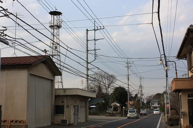 塚越の火の見櫓(坂戸市)