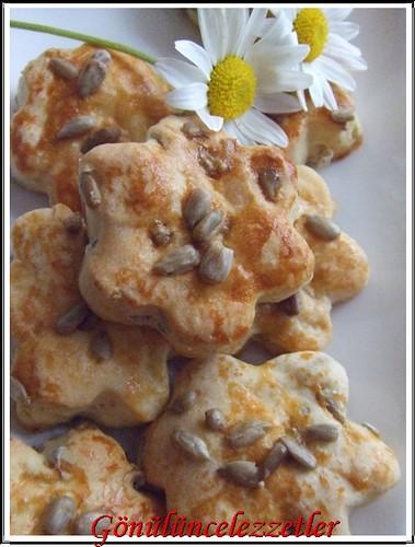 çekirdeki tuzlu kurabiye