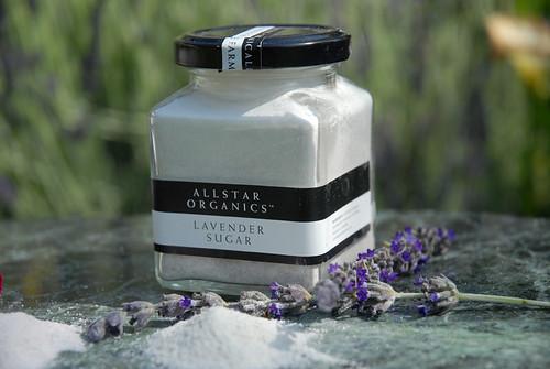 Allstar Organics lavender sugar