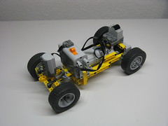 Intermediate Chassis (mahjqa) Tags: car truck acc power lego competition technic chassis functions differential moc intermediate allround