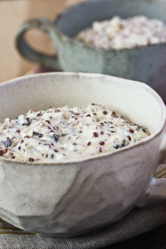 quinoa pudding two cups
