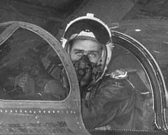 "North American F-86F-20-NH ""Sabre"" pilot. (aeroman3) Tags: north sabre american f86f"