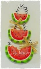 Melancias!! (FOFFY - Arte em MDF) Tags: melancia biscuit im enfeite aplique