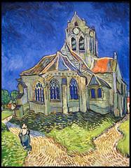 Muse d'Orsay - Vincent van Gogh - L'glise d'Auvers (*Checco*) Tags: paris france art church museum painting paint artist impressionism museo van gogh francia orsay vangogh eglise parigi auvers musedorsay orsaymuseum lglisedauvers