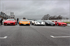 Supercar Line Up (Alex Penfold) Tags: red orange cloud black cars alex sports up car canon dark photography photo cool image awesome picture fast super ps line peter exotic photograph lp hyper lamborghini supercar sv numberplate exotica zonda 2010 f430 supercars combo 512 testarossa 670 farrari lambo pagani penfold 6704 saywell 450d hpyer lp6704 lp670