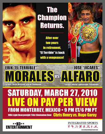 Erik Morales Poster