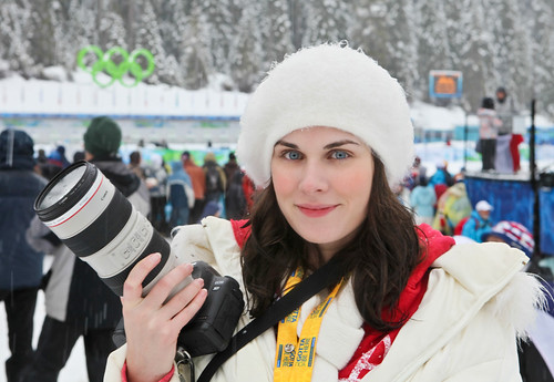 Me & my 5DMKII at the Olympics!