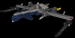 Overview (Beardo24) Tags: fighter lego space warhawk