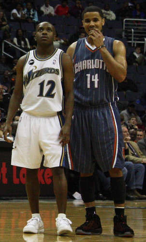 Earl Boykins. D.J. Augustine, Washington Wizards, Charlotte Bobcats, NBA