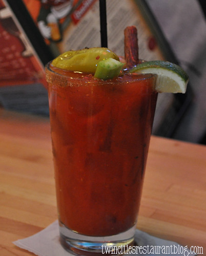 Norman Quacks Bloody Mary