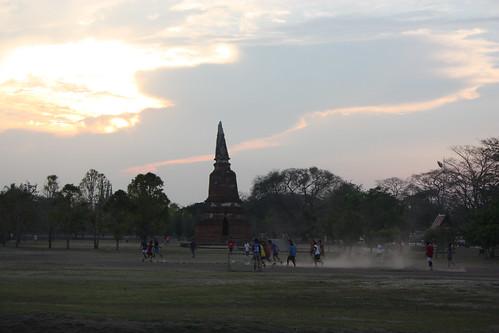 Soccer in Ayutthaya
