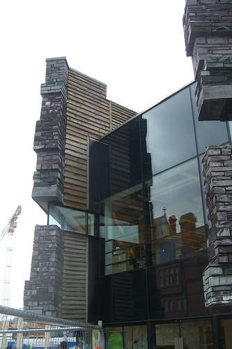 Millenium Centre detail